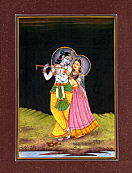 The Inseparable Radha Krishna