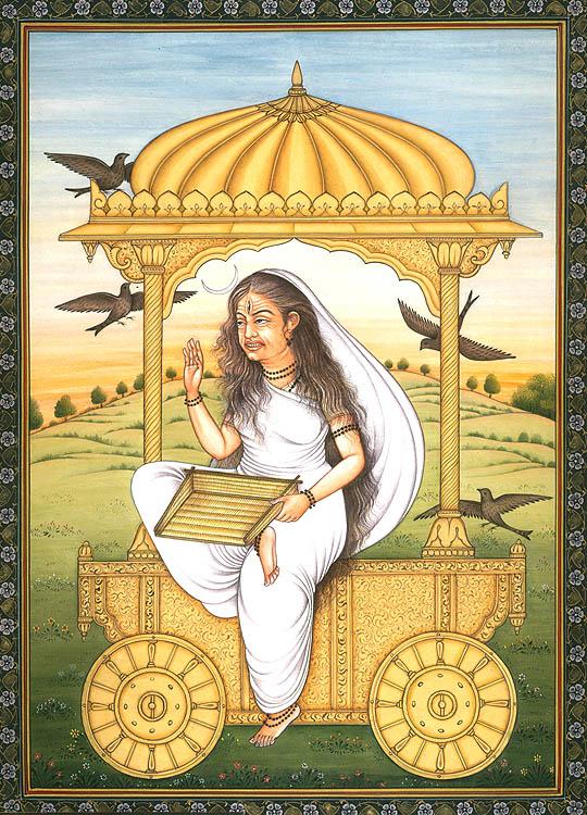 Devi Dhumavati The Most Unusual Of The Mahavidyas