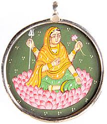 Devi Parvati Pendant