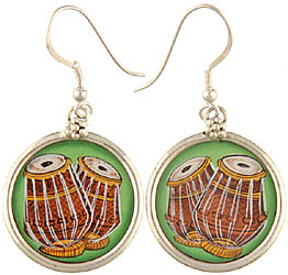 Tabla Earrings