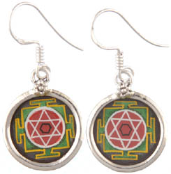 Yantra Earrings