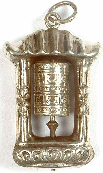 Enshrined Prayer Wheel