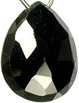 Black Spinel Briolette<br>(Price Per Piece)