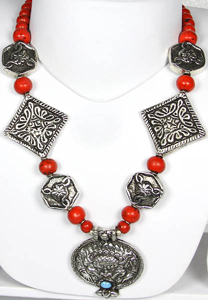 Garuda Beaded Necklace