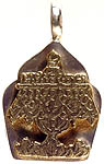 The Umbrella (Ashtamangala) Gau Box Pendant