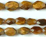 Tiger Eye Faceted Ovals