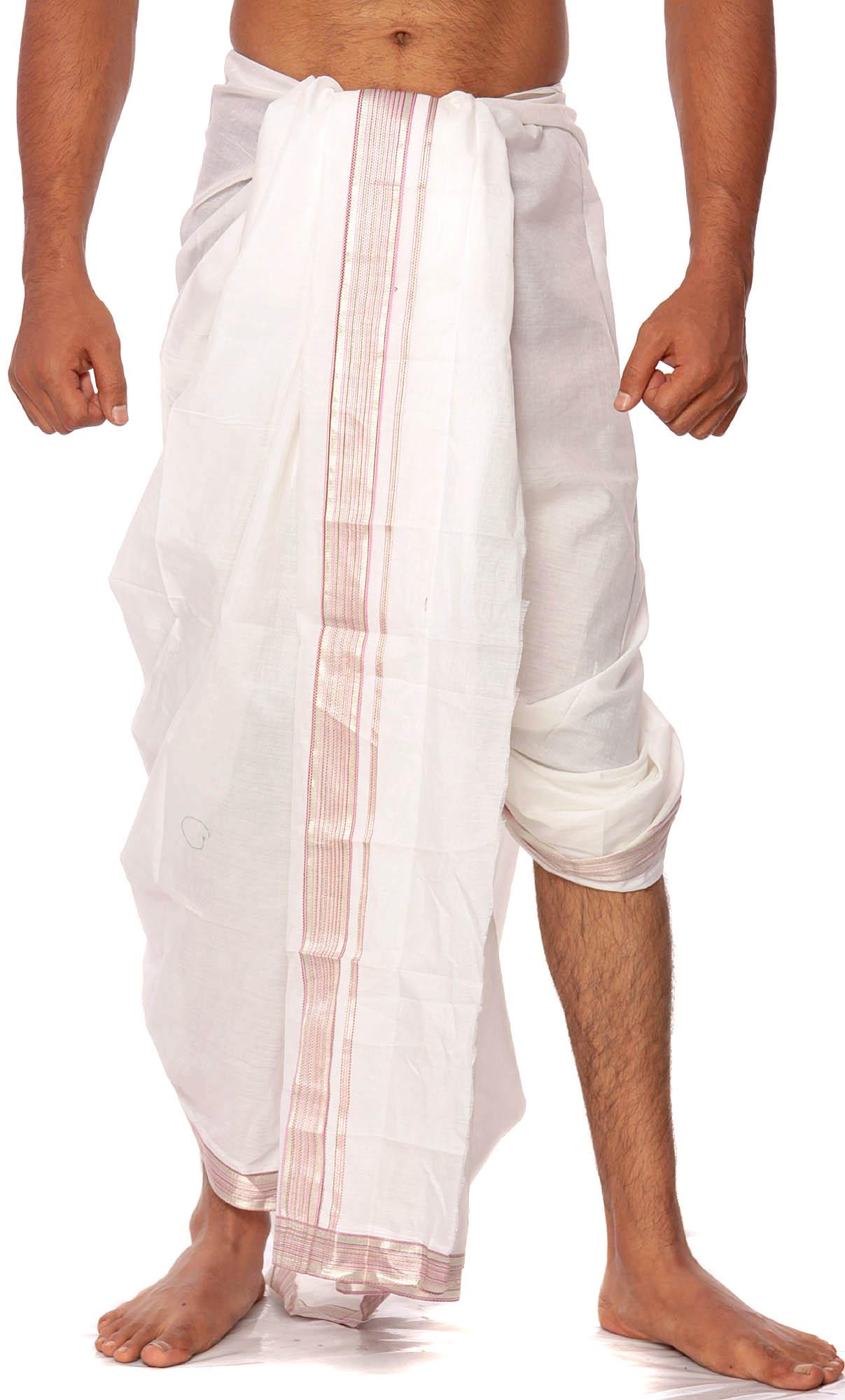 White Men Hindu Clothing
