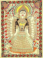 Goddess Mahasaraswati