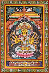 Goddess Gayatri