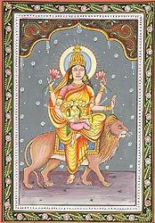 SKANDA MATA - Navadurga (The Nine Forms of Goddess Durga)