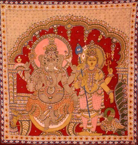 The Two Brothers - Ganesha and Karttikeya