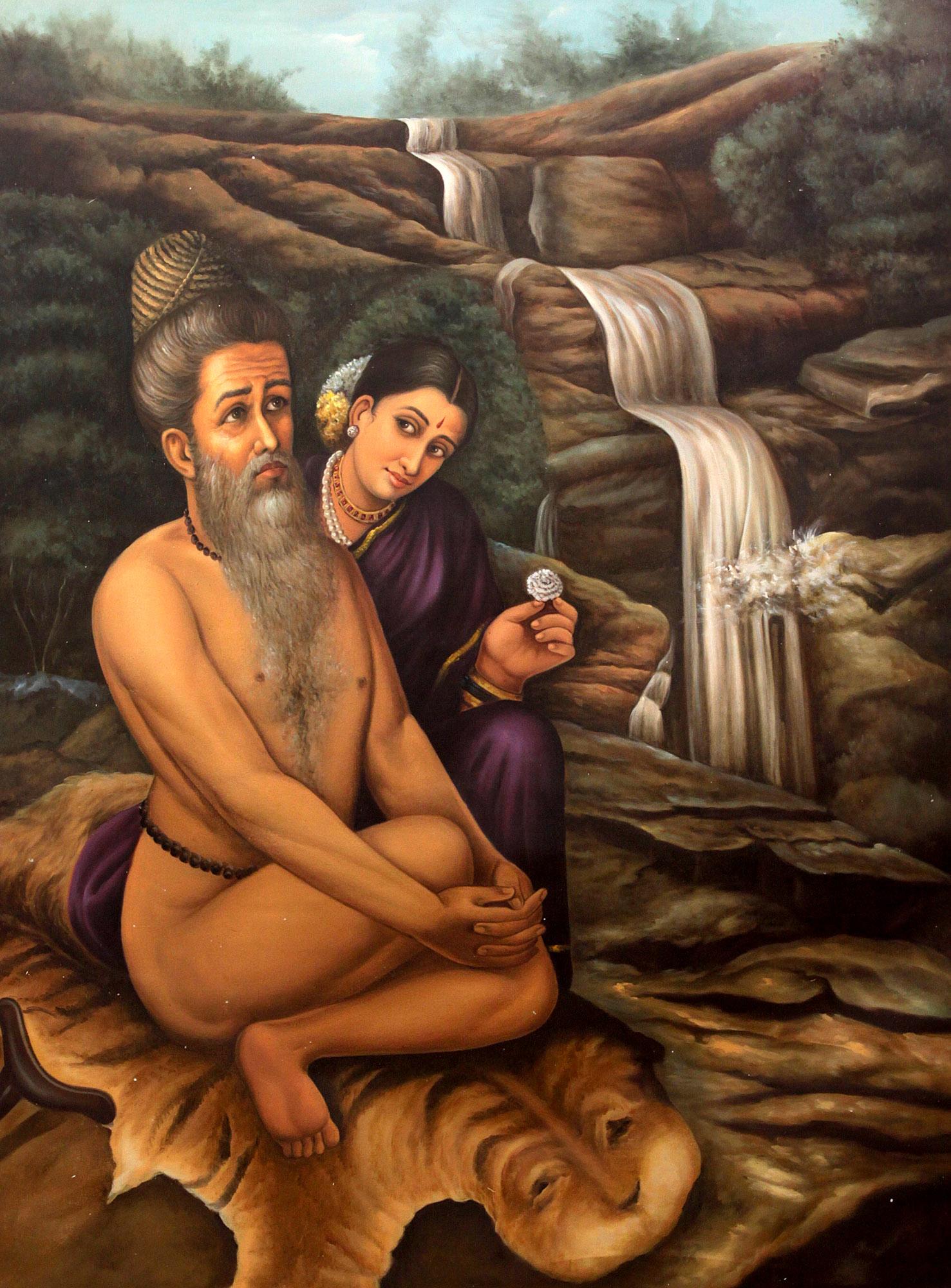Vishwamitra And Menaka