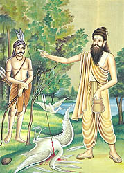 Birth of a Poet - Valmiki is Inspired to Write the Ramayana