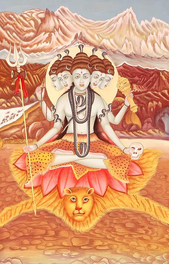 Five Headed Sadashiva