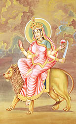Navadurga - The Nine Forms of Goddess Durga - KATYAYANI (The Sixth)