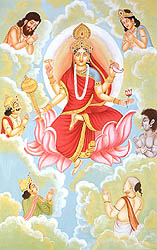 Navadurga - The Nine Forms of Goddess Durga - SIDDHIDATRI