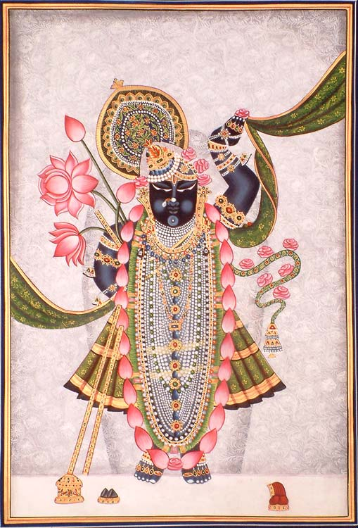 Sri Nath ji at Nathdwara