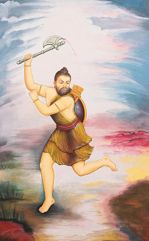 Parashurama Incarnation Of Vishnu And Annihilator Of The