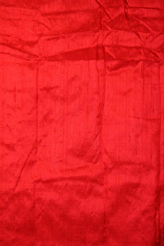 Red Khadi Silk Fabric