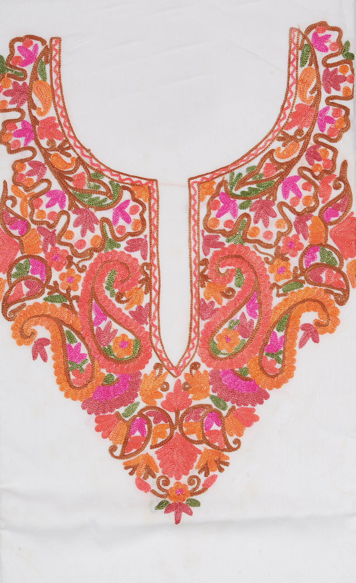 Hand Embroidery Designs For Churidar