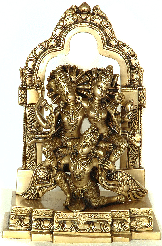 Lakshmi-Narayana on Garuda