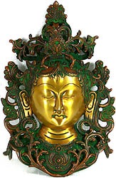 Goddess Tara Wall Hanging Mask