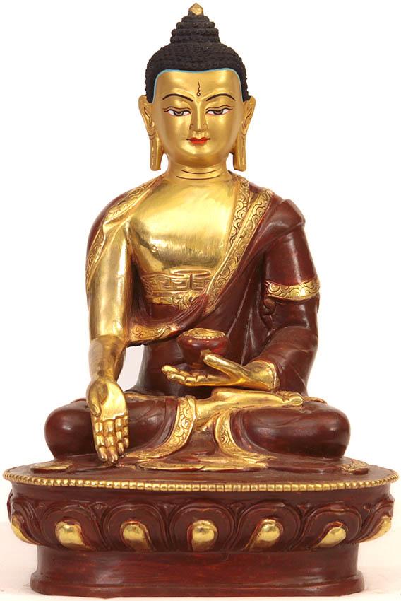 Buddha In Varada Mudra Boon Granting Gesture