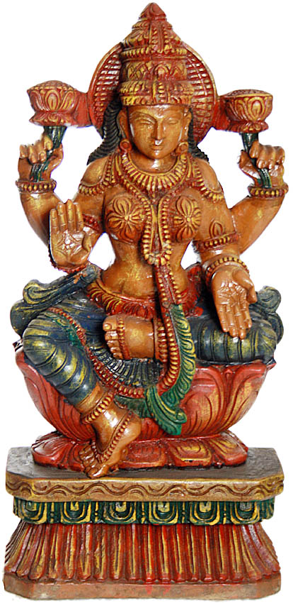 Goddess Lakshmi in Full Glory