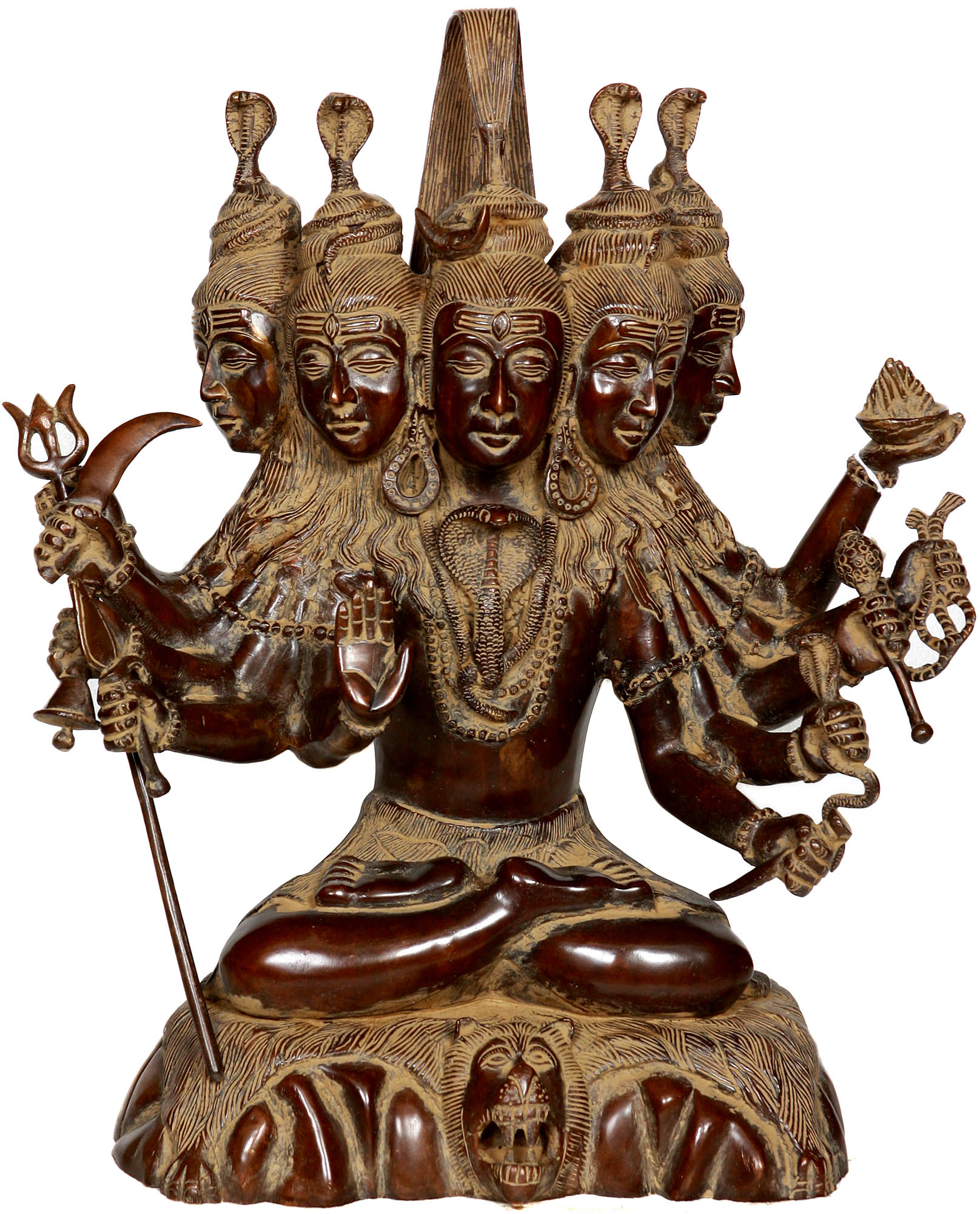 Sadashiva (Five-Headed Shiva) - photo#33
