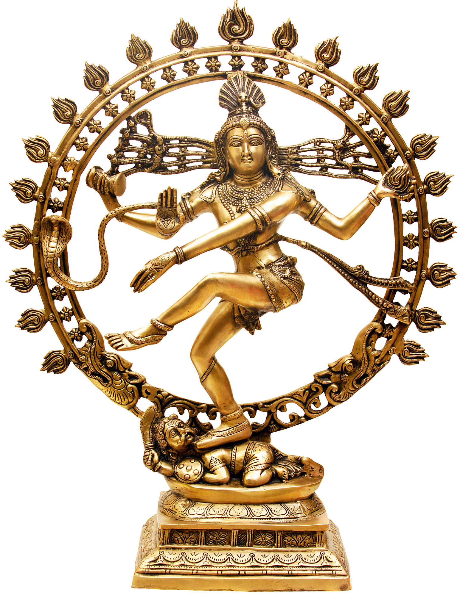 a depiction of shiva nataraja a sculpture of dancing god A depiction of the god shiva as the cosmic dancer who performs his divine dance to destroy a weary universe bronze dancing shiva as nataraja sculpture 21 see.