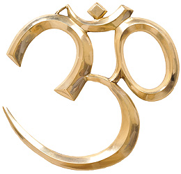 Large OM (AUM) Wall Hanging