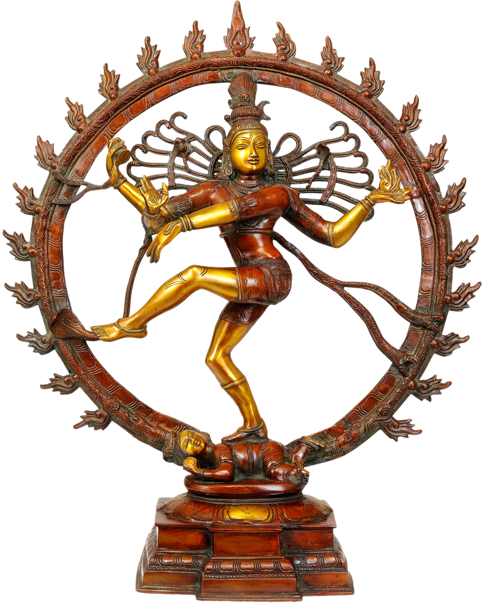 nataraja of shiva Shiva nataraja was first represented thus in a beautiful series of south indian bronzes dating from the tenth and twelfth centuries ad in these images, nataraja dances with his right foot supported by a.