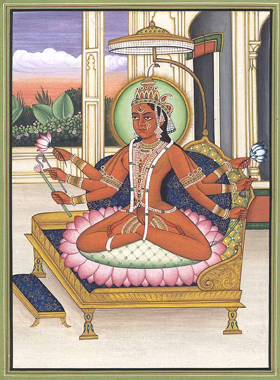 The Mahavidya Bhuwaneshvari