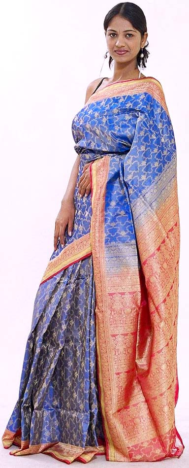 banarasi bridal saree