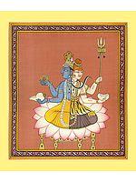 Hari-Hara (A Composite Image Vishnu and Shiva)