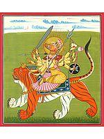Ten-Armed Goddess Varahi