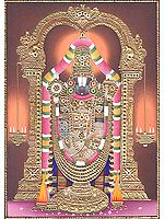 The Holy Image of Tirupati Balaji