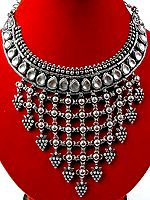 Kundan Chandelier Necklace