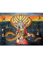 Shri Vishnu on Sheshnag