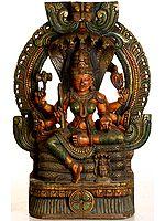 Large Size Goddess Vaishnavi