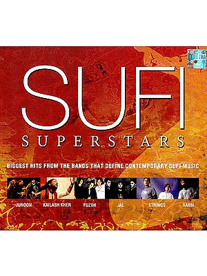 Sufi Superstars - Biggest Hits From the Bands That Define Contemporary Sufi Music (Audio CD)