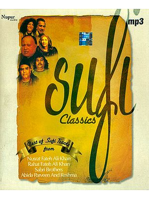 Sufi Classics (Best of Sufi Tracks) (MP3 Audio CD)