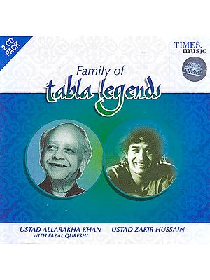 Family of Tabla Legends (Set of 2 Audio CD)