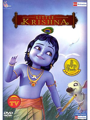 Little Krishna: The Complete Animated TV Series  (Set of 3 DVDs)