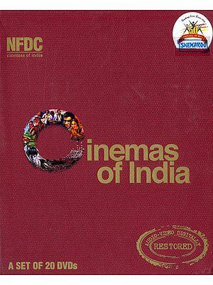 Cinemas of India - Twenty Films (A Set of 20 DVDs)
