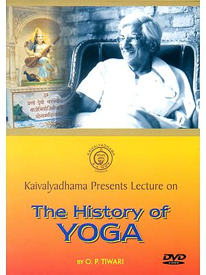 Kaivalyadhama Presents: Lecture on The History of Yoga (DVD)