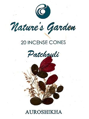 Nature's Garden Patchouli (40 Incense Cones)