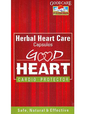 Good Heart: Herbal Heart Care Capsules Cardio Protector