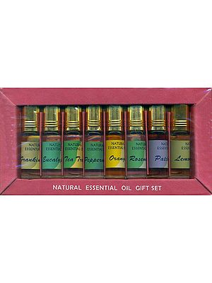 Natural Eight Essential Oils (Gift Pack)