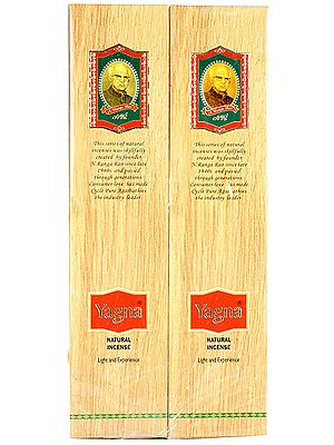 Yagna Natural Incense - Light and Experience (Price Per Six Packets)